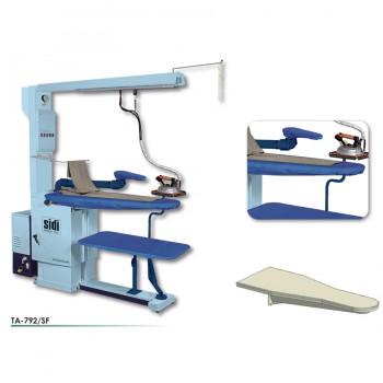 Гладильный стол с наддувом и вакуумом  SIDI  mod TA-792/SF
