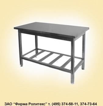 Столы нержавеющие для прачечных и химчисток (разборные)